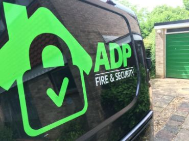 ADP Fire & Security Van
